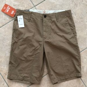 NWT Dockers pacific flat-front twill shorts sz 29